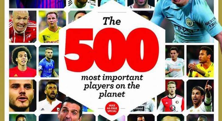 Rilis Daftar Pemain Paling Berpengaruh Tahun 2018, World Soccer Tidak Sertakan Nama Pemain Indonesia