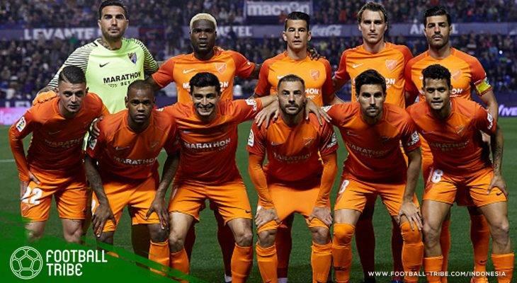 Malaga CF Jadi Klub Pertama di Liga Top Eropa yang Terdegradasi