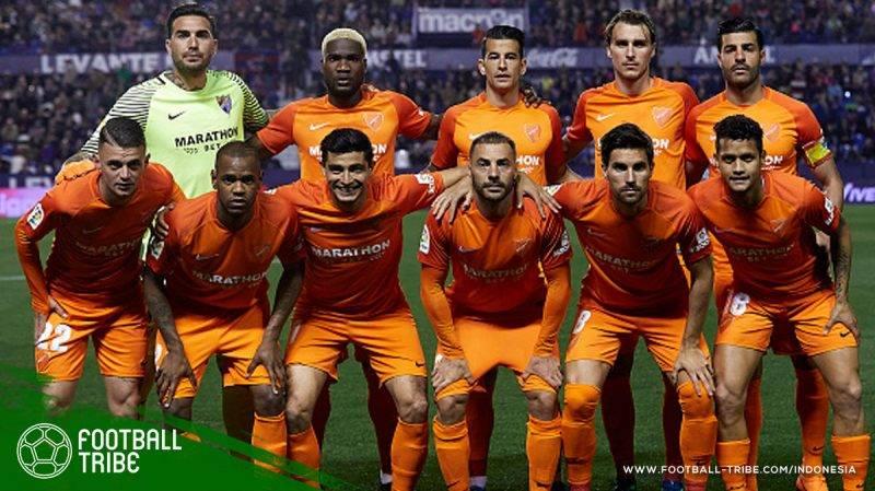 Malaga harus turun ke Segunda Division