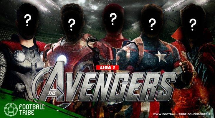 Seandainya Pemain Liga 1 adalah Karakter Film Avengers: Infinity War