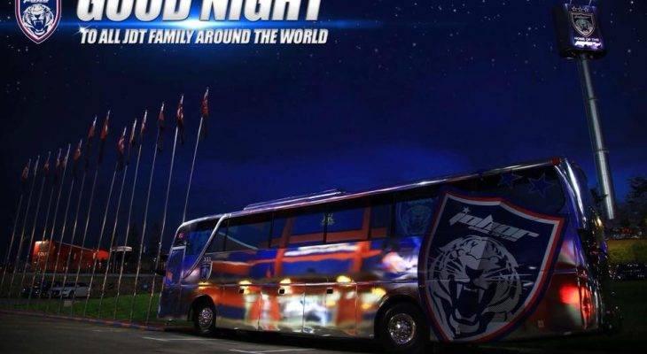 Johor Darul Ta'zim Sediakan Bus Gratis untuk Suporternya