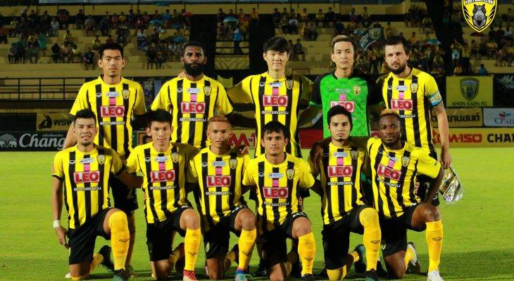 Yanto Basna Amankan Posisi Khon Kaen FC di Tiga Besar Thai League 2