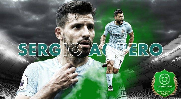 Football Tribe 44 Universal Player Awards: Sergio Aguero