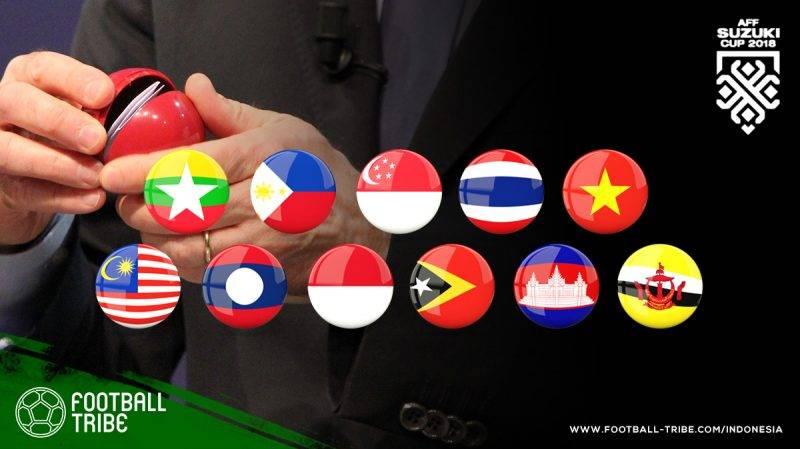 Hasil undian fase grup Piala AFF 2018