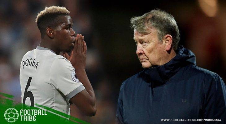 """Pelatih Denmark: """"Dibanding Membantu Timnya Bermain Baik, Paul Pogba Justru Lebih Peduli dengan Warna Rambutnya"""""""