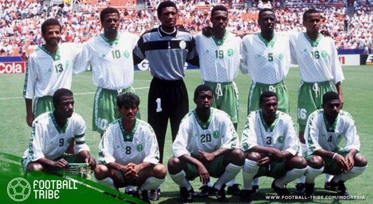 Mengenang Momen Ketika Arab Saudi Tampil Mengesankan di Piala Dunia 1994