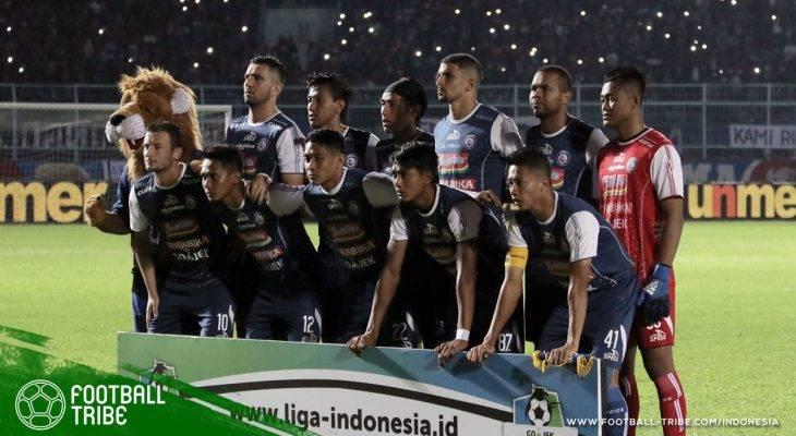 Langkah Gagah Arema FC Jelang Putaran Kedua