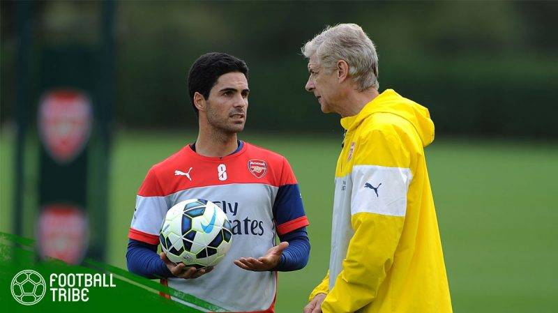 Arteta akan menjadi pelatih Arsenal