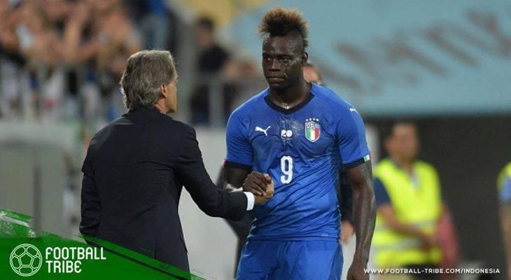 Melihat Kembali Mario Balotelli Mencetak Gol dengan Seragam Italia