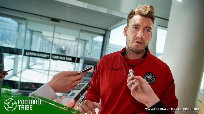 Lord Bendtner memang terlihat kesakitan