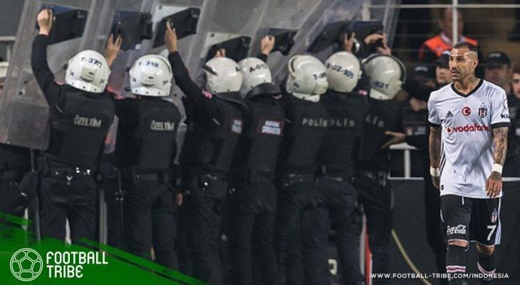 Mogok Main, Besiktas Dieliminasi dari Piala Turki