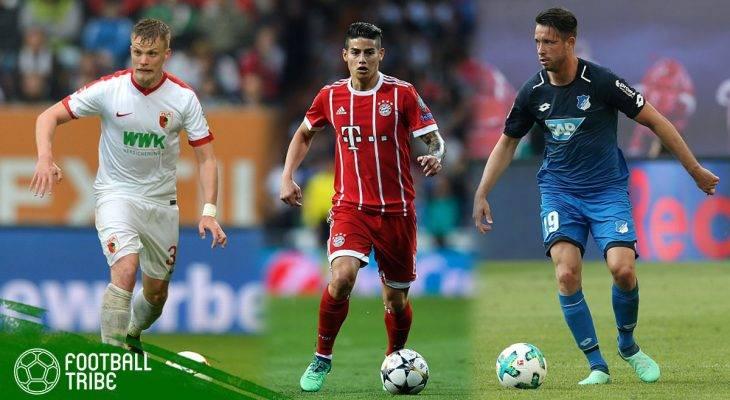 Best XI Bundesliga Musim 2017/2018