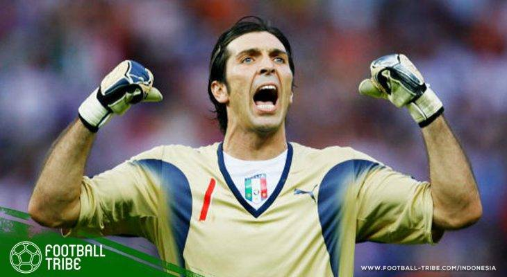 Nostalgia Berbagai Momen Penting Gianluigi Buffon di Piala Dunia