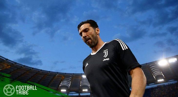 Konferensi Pers Terahir Gianluigi Buffon sebagai Pemain Juventus