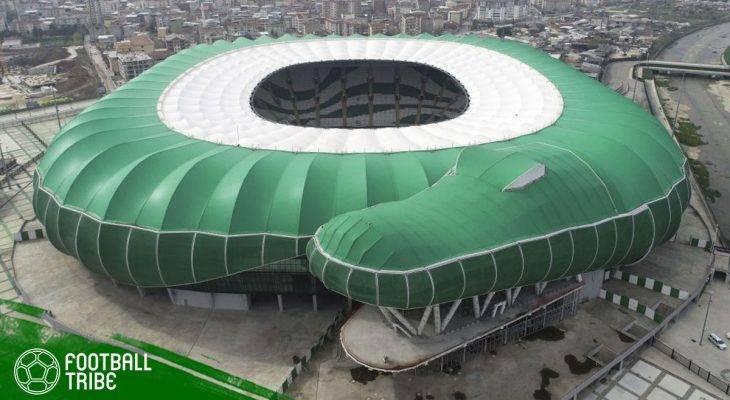 """Uniknya Stadion """"Kandang Buaya"""" Milik Bursaspor"""