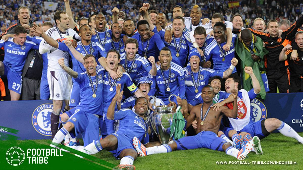 Ganti Pelatih di Tengah Musim, Tuah Chelsea Saat Juara Eropa