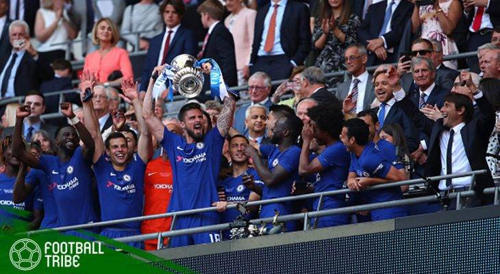 Tribe Rating: Kegemilangan Eden Hazard dan Solidnya Lini Belakang Bawa Chelsea Juarai Piala FA