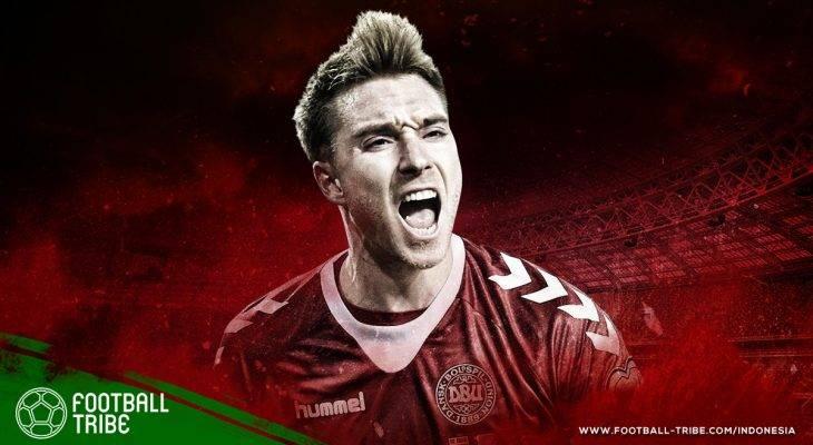 Profil Bintang Piala Dunia 2018: Christian Eriksen, Dinamit yang Siap 'Meledak' di Rusia