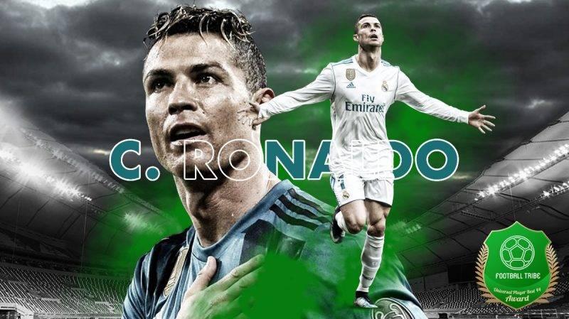 Cristiano Ronaldo total sudah mengoleksi lima trofi