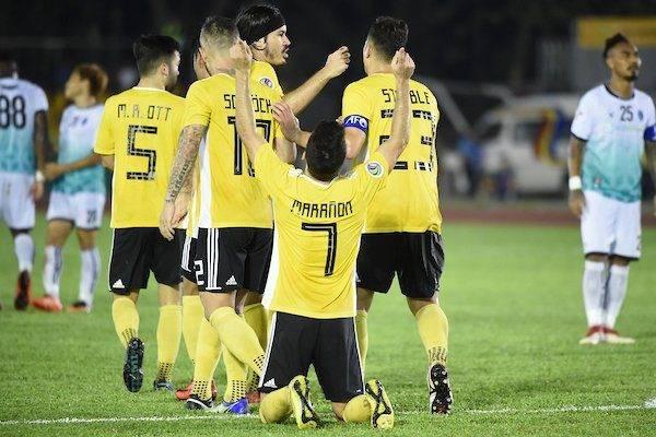 Pesta Gol dan Kartu di Pertandingan antara Yangon United dan Ceres Negros