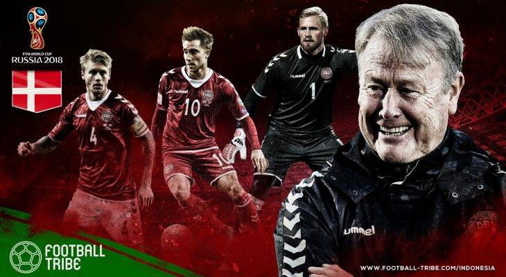 Profil Denmark di Piala Dunia 2018: Tim Dinamit dari Skandinavia Yang Siap Beri Kejutan di Rusia