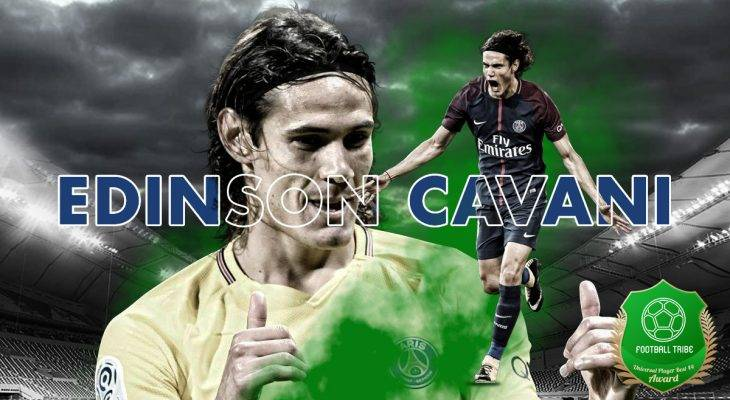 Football Tribe 44 Universal Player Awards: Edinson Cavani
