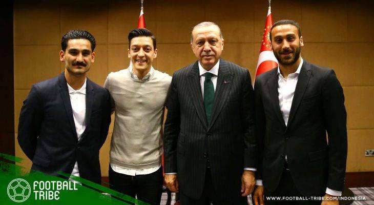 Tiga Bintang Liga Primer Inggris Berdarah Turki Temui Recep Erdogan, Emre Can Menolak Hadir