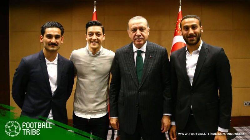 Erdogan bertemu Özil