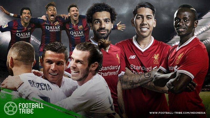 pertandingan antara Liverpool dan Madrid