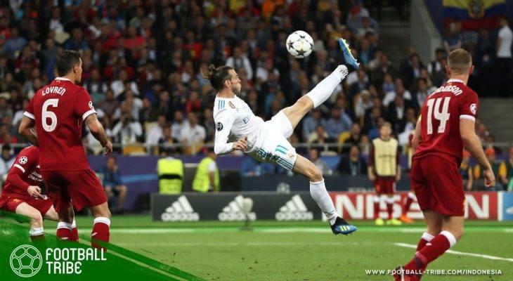 Tahukah Kamu Bahwa Gol Salto Gareth Bale dan Cristiano Ronaldo Terjadi di Menit yang Sama?
