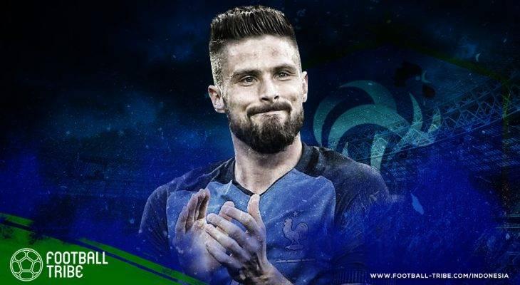 Profil Bintang Piala Dunia 2018: Olivier Giroud, Legenda yang Tak Terduga