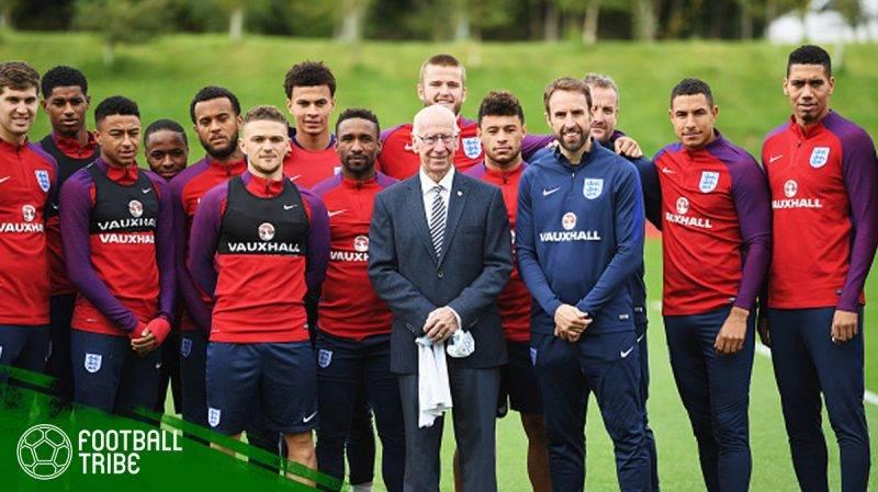 perubahan terhadap timnas Inggris