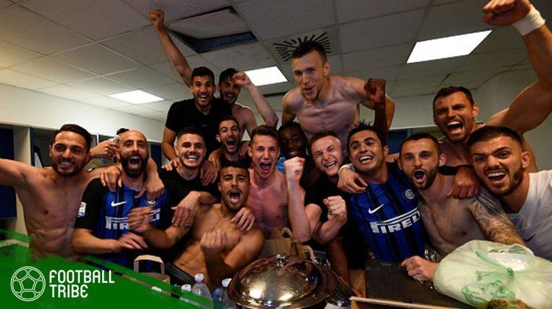 Internazionale Milano berhasil mengunci tiket