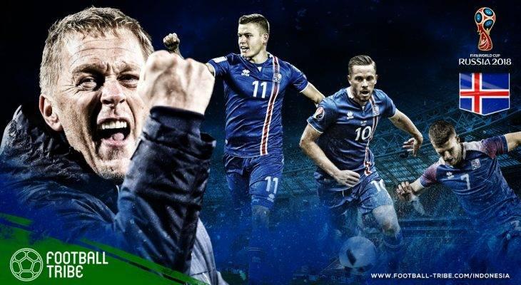 Profil Islandia di Piala Dunia 2018: Kejutan dan Keajaiban dari Sebuah Negara Kecil