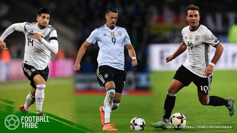 pemain yang tidak dimasukkan Löw ke dalam skuat Jerman