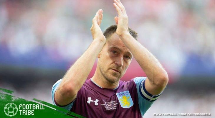 Gagal Promosi, John Terry Resmi Tinggalkan Aston Villa