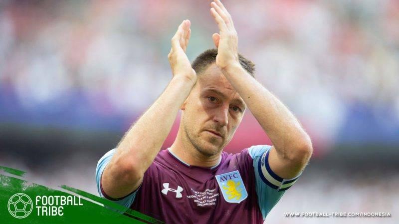 John Terry resmi meninggalkan Aston Villa