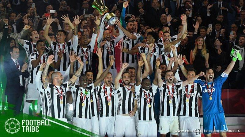 Juventus kembali mempertajam rekornya