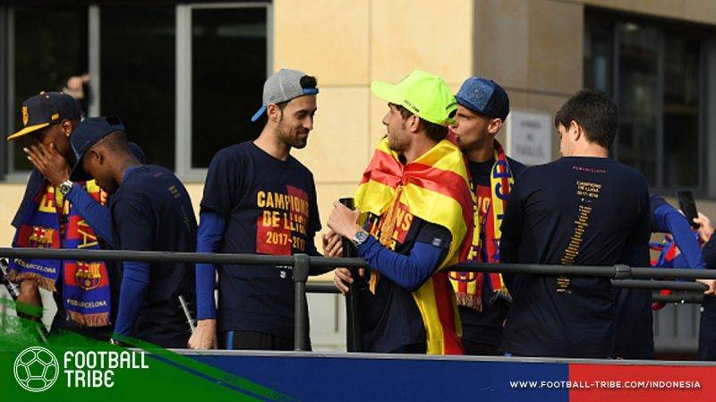 kaus juara Barcelona
