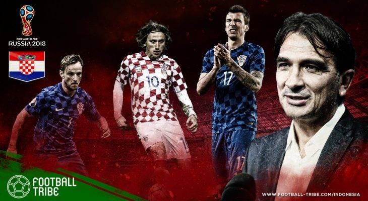 Profil Kroasia di Piala Dunia 2018: Mencoba Mengulang Sejarah dengan Skuat Penuh Bintang