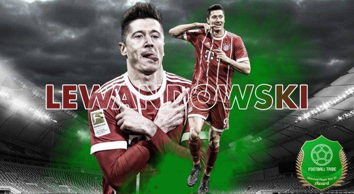 Football Tribe 44 Universal Player Awards: Robert Lewandowski