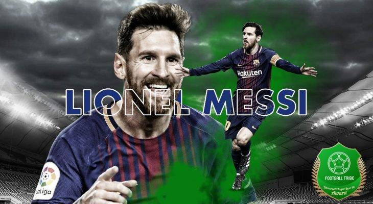 Football Tribe 44 Universal Player Awards: Lionel Messi
