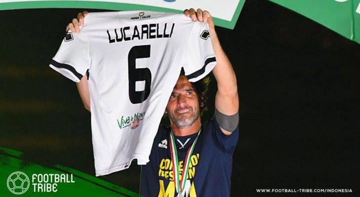 Melepas Alessandro Lucarelli Pensiun, Sang Loyalis Sejati di Sepak Bola