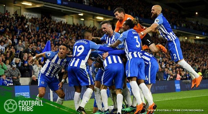 Kalah dari Brighton, Manchester United Perpanjang Rekor Buruk di Kandang Tim Promosi