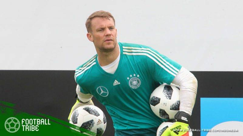 Neuer coba mengembalikan kondisi fisiknya