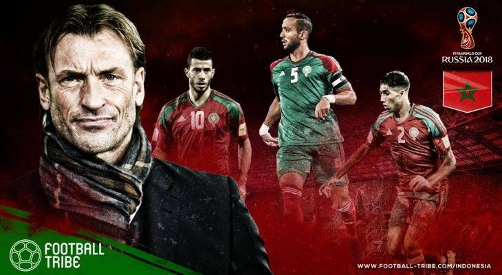 Profil Maroko di Piala Dunia 2018: Tim Singa Atlas yang Mengandalkan Amunisi Eropa
