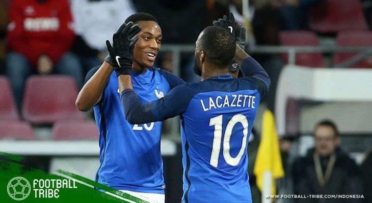 Didier Deschamps Berikan Penjelasan Dibalik Pencoretan Alexandre Lacazette dan Anthony Martial