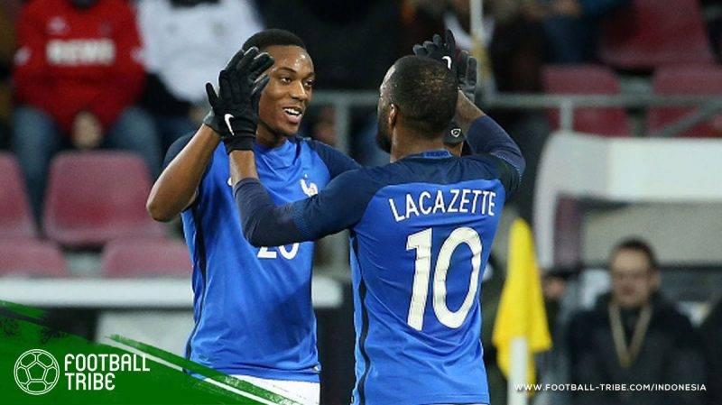 Martial maupun Lacazette