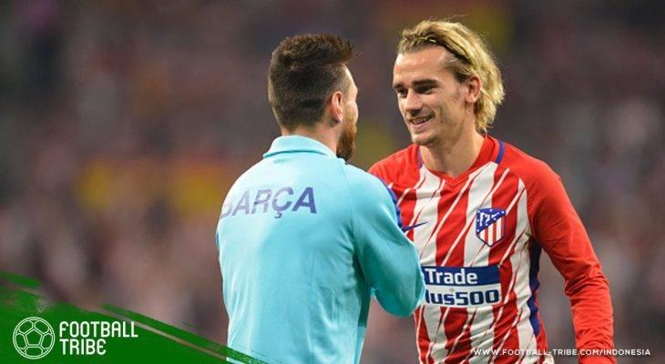 Benarkah Lionel Messi Ikut Turun Tangan dalam Merayu Antoine Griezmann untuk Datang ke Barcelona?