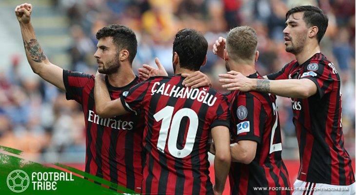 Tribe Rating: Empat Gol AC Milan Kirim Verona ke Serie B